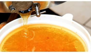 Як процідити мед?