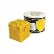 Форма силіконова Куб (6см) Свічки