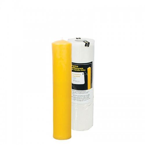 Форма силиконовая Свеча большая 30х350мм