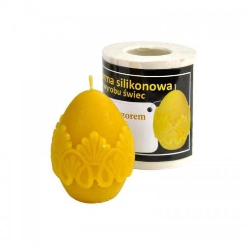 Форма силіконова Яйце з Узором (5,5см)
