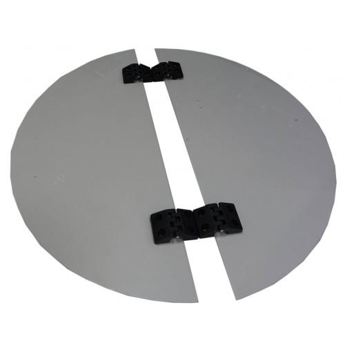 Крышка пластиковая к медогонокам Ø 600 (с петлями) Медогонки