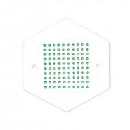 Мітки для маток зелений колір Мічення