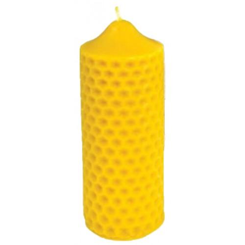Свічка ролик бджолиний (16см)