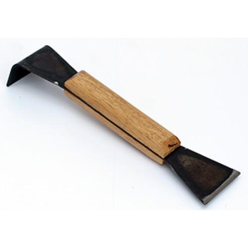 Стамеска пасечная с деревянной ручкой 200 мм