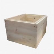 Корпус Дадан деревяный (10-ти рамочный) Элементы ульев