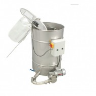 Відстійник з насосом для фільтрації меду  Відстоювання меду