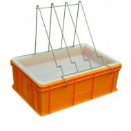 Ванночка для розпечатування пластик (200 мм, сито пластик)