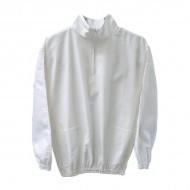 Куртка біла без капелюха Одяг