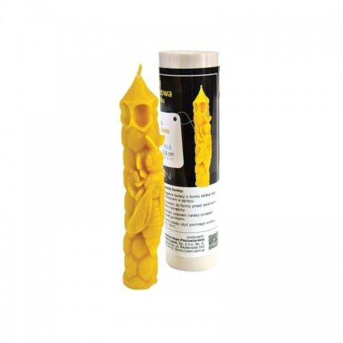 Форма силіконова Свічка з скибкою велика (16см)