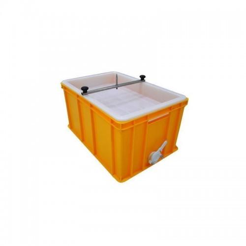 Ванночка для розпечатування пластик (300мм, сито пластик) з штифтом