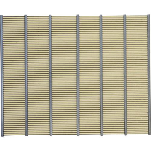 Разделительная решетка металлическая на 10 рамок вертикальная 47,0см х 38,5см Польша