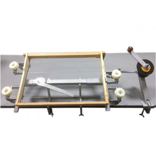Пристрій для натягування дроту в рамках