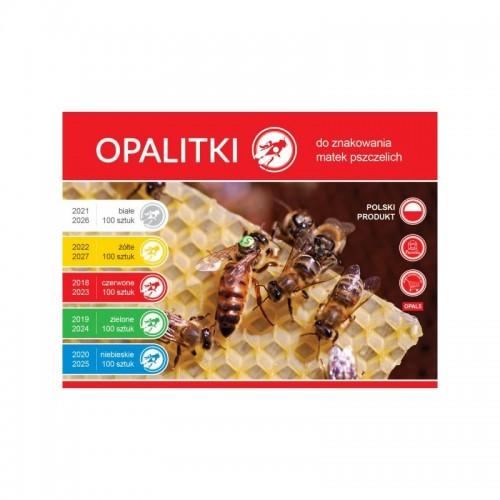 Мітки для бджолиних маток 5 років (новинка)