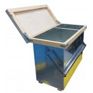 Ящик для переноса 6-ти рамок с металлической ручкой (Дадан)