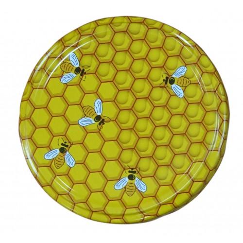 Кришка металева (Твіст-82) медова