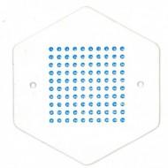 Мітки для маток один колір (синій)