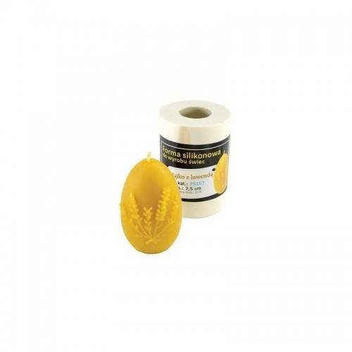 Форма силиконовая Яйцо с лавандой