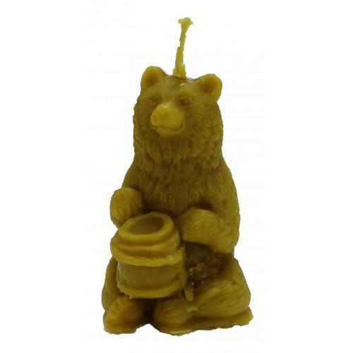 """Свічка """"Ведмідь"""""""