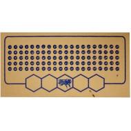 Мітки для бджолиних маток синій колір (1-100)