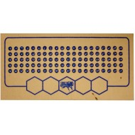 Метки для пчелиных маток синий цвет (1-900)