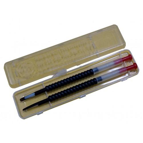 Шпатель для перенесення личинок чорний (комлект 2 шт.)