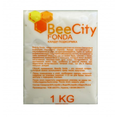 Канді для підгодівлі бджіл BeeCity Fonda (1 кг)