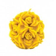 Форма силіконова - Куля з трояндами