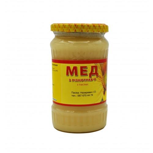 Мед з Різнотравя (0,350л.)