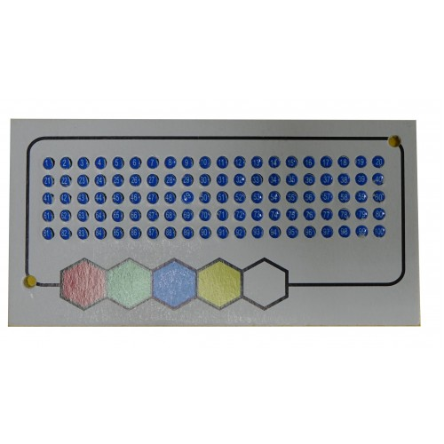 Ополітки для маток синій колір (1-100)
