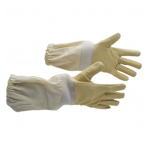 ¶Перчатки кожаные Semi Vented Bee Gloves