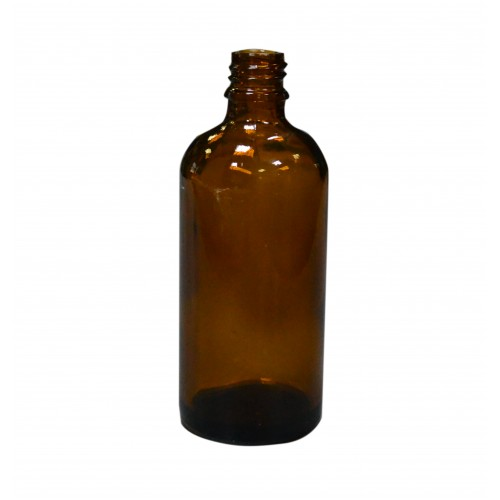 Пляшечка 100мл. коричнева (скляна)
