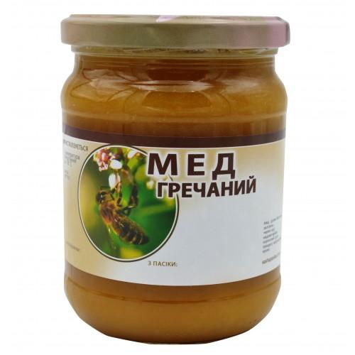 Мед Гречаний (0,5л.)