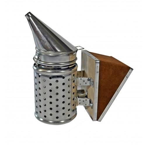 Дымарь нержавеющий (с ограждением) с вставкой 25 см.