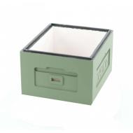Корпус вулика пінополістирол 10 рамок Дадан Lyson фарбований (зелений)