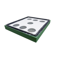Потолок пенополистирол 10 рамок Lyson крашеный (зеленый)