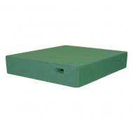 Крыша пенополистирольная 10 рамок Lyson высокая крашеная (зеленая)
