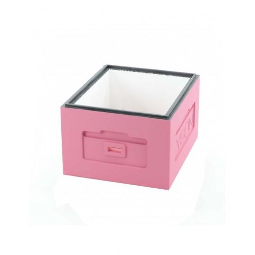 Корпус вулика пінополістирольний 10 рамок Дадан Lyson фарбований (рожевий)