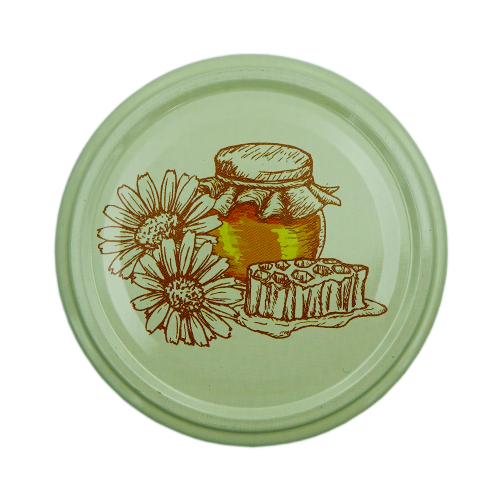 Кришка металева для меду (Твіст-82)  HONEY D12
