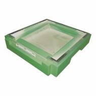 Дно пінополістирол 12 рамок Lyson гігієнічне (на 1 сім'ю) фарбоване (зелений)