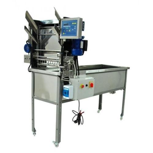 Стіл для розпечатування з подавачем автомат 230В, ножі електр.