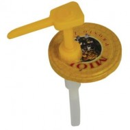 Аплікатор для дозування меду на малу та велику банки