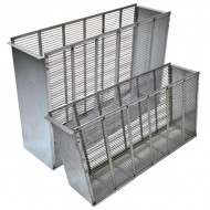 Ізолятор металевий Дадан 1/2,3-рамковий Вулики та комплектуючі