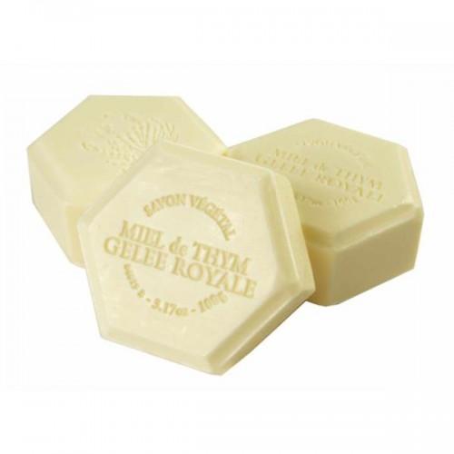 Мыло медовое с маточным молочком французское 100 гр