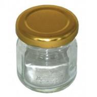Баночка 35 мл з кришкою (30 шт в пачці) ціна за 1 шт Тара для меду