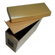 Ящик Дадан для бджолопакетів картонний, складений з покриттям